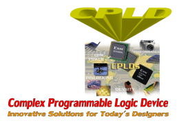 SPLD (Simple Programmable Logic Device)