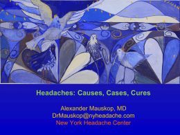 Rennaisance 2014 - New York Headache Center