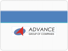 Advance Group – An Introduction