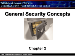 General Security Concepts - Digital Locker and Personal Web Space