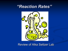 Chemical Reaction PowerPoint