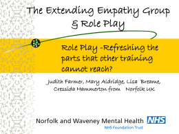 The Extending Empathy Group inspired by