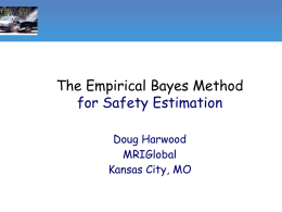 Application of the Empirical Bayes Method