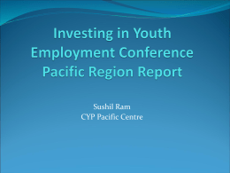 Pacific regional conference