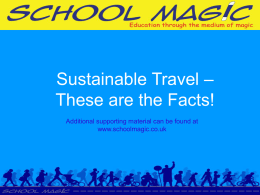 Sustainable Travel Facts
