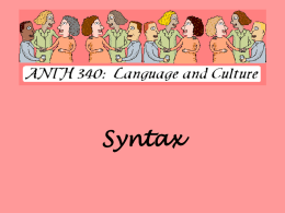 Syntax PowerPoint