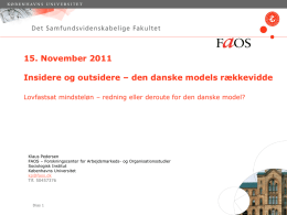 powerpoint lektion 10 - FAOS