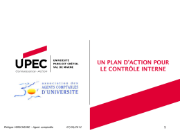 plan action UPEC
