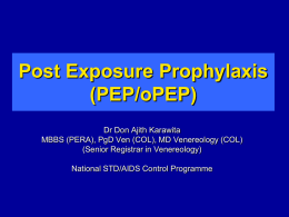 PPT - National STD/AIDS Control Programme