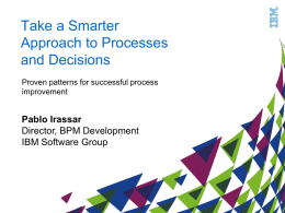 IBM-BPM-ProcessImprovementPatternsForSuccess