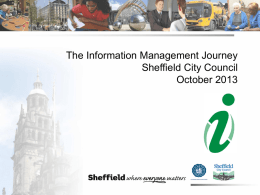 The Information Management Journey 2013