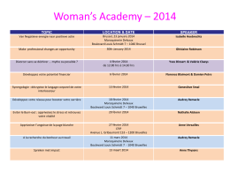 Talented Woman`s Academy